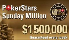 PokerStars Sunday Million 17/10/10