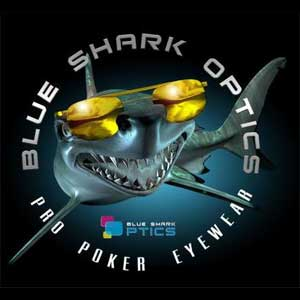 Blue Shark Optics official WSOP eyewear