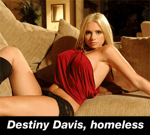 homeless destiny davis