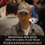 Sensational Seidel still on a roll in Las Vegas