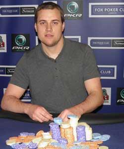 Jon Omara - Monthly Fox Poker Club Winne