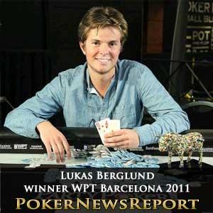 Lukas Berglund Wins WPT Barcelona 2011