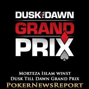 Morteza Islam Winst Dusk Till Dawn Grand Prix