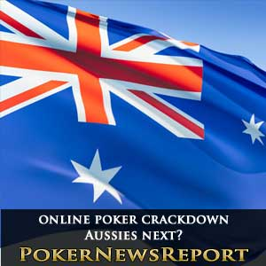 Online poker sites crackdown australia