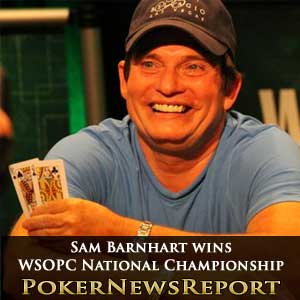 Sam Barnhart wins WSOPC National Championship