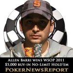 Allen Bari Wins WSOP 2011 $5,000 Buy-in No-Limit Hold'em