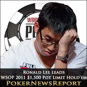 WSOP 2011 - Ronald Lee