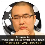 Stephen Su and Rep Porter battling it Out for WSOP $2,500 Seven-Card Razz Title