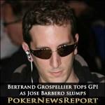 Bertrand Grospellier Still Tops GPI rankings