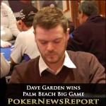 Dave Garden Takes Down Palm Beach Big Game