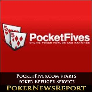 PocketFives Poker Refugee Service