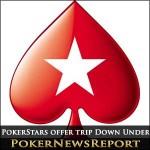 PokerStars Offer Trip Down Under