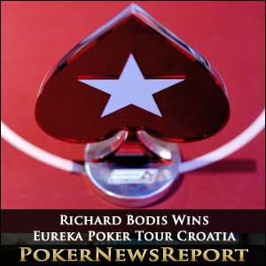 Richard Bodis Wins Eureka Poker Tour Croatia
