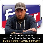 Steve O'Dwyer Wins First Epic Poker League Pro-Am Main Event Entry
