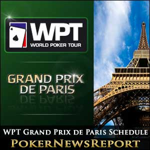WPT Grand Prix de Paris Schedule