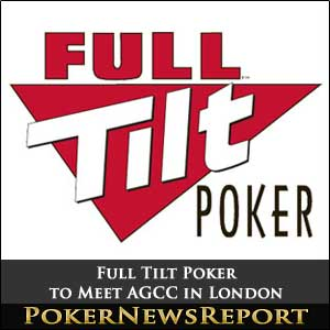 Full Tilt Poker to Meet AGCC in London