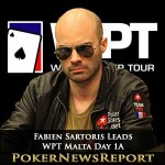 Fabien Sartoris Leads WPT Malta Day 1A