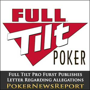 Full Tilt Pro Rafe Furst Open Letter