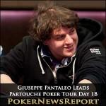 Partouche Poker Tour – Giuseppe Pantaleo Leads Day 1B