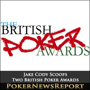 Jake Cody Scoops Two British Poker Awards