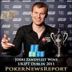 Joeri Zandvliet Wins UKIPT Dublin 2011