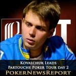 Oleksii Kovalchuk Storms into Partouche Poker Tour Day 2 Lead