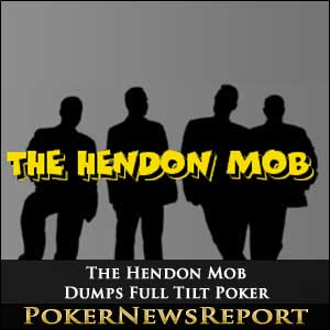 The Hendon Mob Dumps Full Tilt Poker