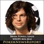 WSOPE Mix-Max Tournament Enters Final Stage