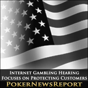Internet Gambling Hearing