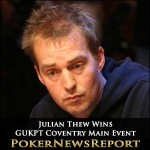Julian Thew Wins GUKPT Coventry Main Event