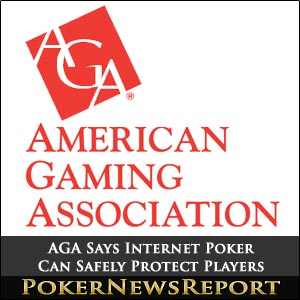 AGA Says Internet Poker Can Safely Protect Players