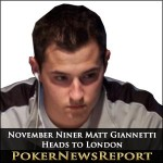 November Niner Matt Giannetti Heads to London