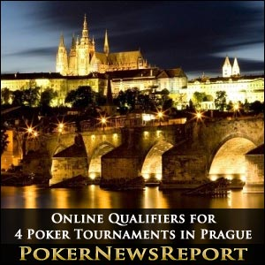 Online Qualifiers for Four Poker Tournaments in Prague