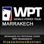 Mohamed Ali Houssam Leads WPT Marrakech