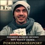 Edoardo Alescio secures the WPT Venice crown
