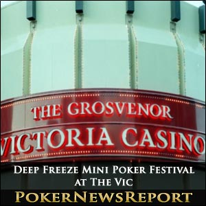 Deep Freeze Mini Poker Festival at The Vic