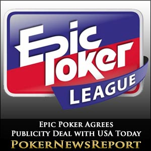Epic Poker Agrees Publicity Deal with USA Today