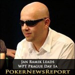 WPT Prague Day 1a – Jan Ramik Leads