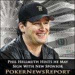 Phil Hellmuth Hints he May Sign With New Sponsor