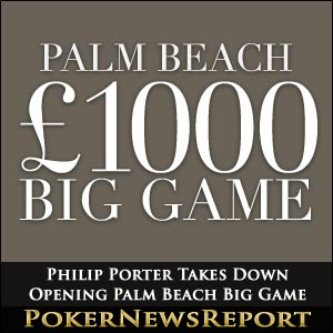 Philip Porter Takes Down Opening Palm Beach Big Game