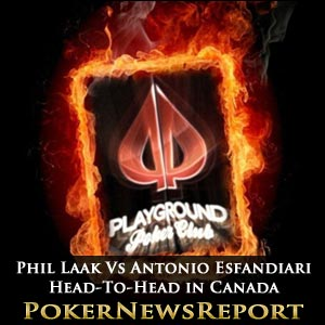 Phil Laak Vs Antonio Esfandiari