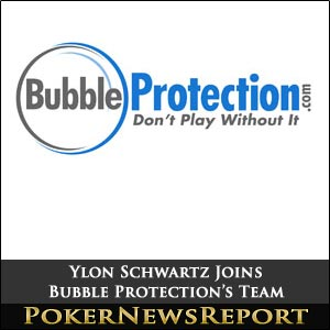 Ylon Schwarts Joins Bubble Protection's Spokesman Team