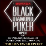 Bovada Black Diamond Poker Open Still Running