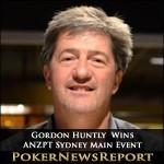 Gordon Huntly Takes Down ANZPT Sydney Main Event
