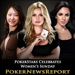PokerStars Celebrates Women's Sunday