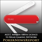 AGCC Awards 100th Gaming Licence to Relax Gaming Network