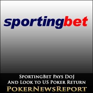 SportingBet Pays DoJ