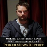 Morten Christensen Leads WPT Vienna after Day 2