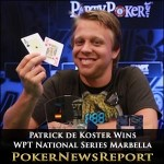 Patrick de Koster Secures WPT National Series Marbella Title