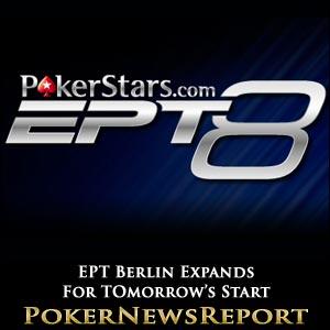 PokerStars EPT Berlin Expands
